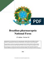 Formulario Nacional Farmacopeia Ingles Com Alerta