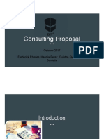 consulting proposal slideshow