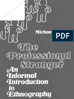 AGAR, Michael - The Professional Stranger