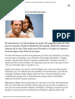 El Matrimonio Cristiano _ Edición Artículo _ La Palabra Entre Nosotros
