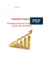 Evolutia Datoriei Publice in Romania