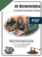 Hermenéutica - Gabriel Guardia