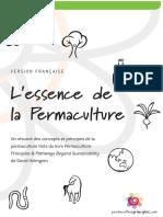 L'Essence de La Permaculture - Holmgren