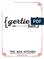 Gertie's Bar Cocktail Book