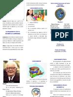 Brochure EL Conocimiento Lógico Marisol
