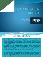 Planta de Gtl en Bolivia