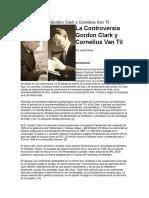 La Controversia Gordon Clark y Cornelius Van Til