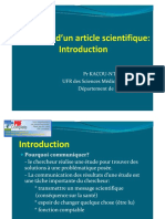 Rédaction d'Un Article Scientifique Introduction_2