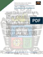 Historia de La Creación Del Programa s10