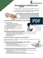Subprograma de Medicina Preventiva Tunel Del Carpio