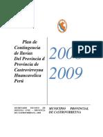 Plan de Contingencia de Lluvia-castrovirreyna-huachos