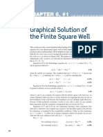 Finite Square Well