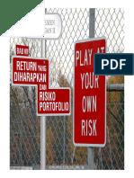 Risiko Dan Hasil Pada Asset