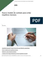 Nuevo Modelo de Contrato Para Evitar Inquilinos Morosos _ Gerizim Inmobiliaria