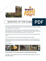Kiwiana in the Garden 2017