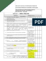Checklist Obras Publicas MEC