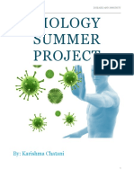 Biology Diseases and Immunity Summer Project Copy