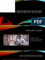 film and tv sound