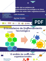 Estudio Del Ecosistema de Emprendimiento Tecnológico en Lima - Análisis de Redes Inter-Organizacionales