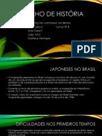 Trabalho de História Japoneses No Brasil