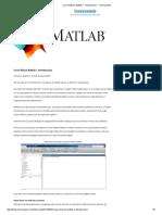Curso Básico Matlab 1. Introduccion