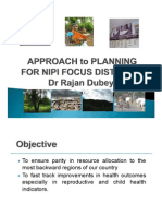 High Focus Districts- Presentation for NIPI_Dr Rajan Dubey [Compatibility Mode]