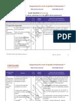 45001:2018 Audit Checklist (preview)