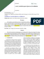 Lab 1. Doblado, Trazado, Corte y Medición Para El Proceso de Soldadura