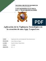 Aplicación de Vigilancia Tecnológica a Una Nueva App LoqueLees