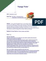 passage picker role sheet