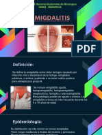 Amigdalitis Expo.