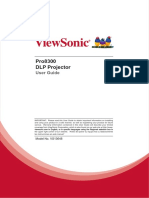 Viewer Sonic Pro 8300 Manual