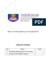 MKT Assignment (ZAI_reen Pengantin & Spa)
