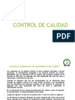 1.- Control de Calidad