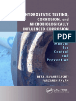 Hydrostatic Testing, Corrosion, And Microbiologically Influenced Corrosion_ a Field Manual for Control and Prevention-CRC Press (2017)