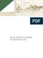 Rio de Janeiro-Alemanha Relacoes Musicai
