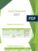 KELAS PEMULIHAN 2017