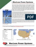 Catalogo MacLean Power Systems