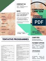 Corrosion Camp Brochure 2018 (R6)