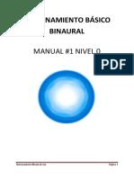 Entrenamiento Basico Binaural m1 n0