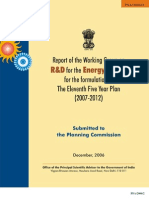 R&D Energy - Planning Com 11th Plan