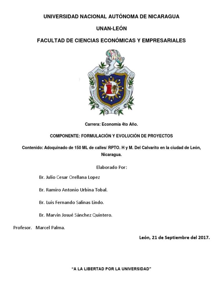 Adoquinado de 150 ML de Calles RPTO. H y M. Del Calvarito ...