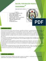 Proyecto de Exploracion, Perforacion Prospecto Itaguazurenda (Presentacion)