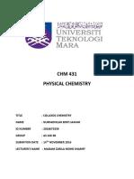 Exp 7 Colloids Chemistry