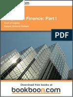 Corporate Finance_ Part I