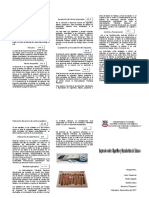 Triptico de Impuesto sobre venta de Cigarrillos y Manufactura de Tabaco