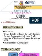 In House Training Cefr 2017