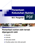 Kebutuhan Nutrien