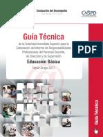 Guía Técnica Para Informe de Responsabilidades