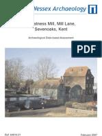Mill Lane, Sevenoaks